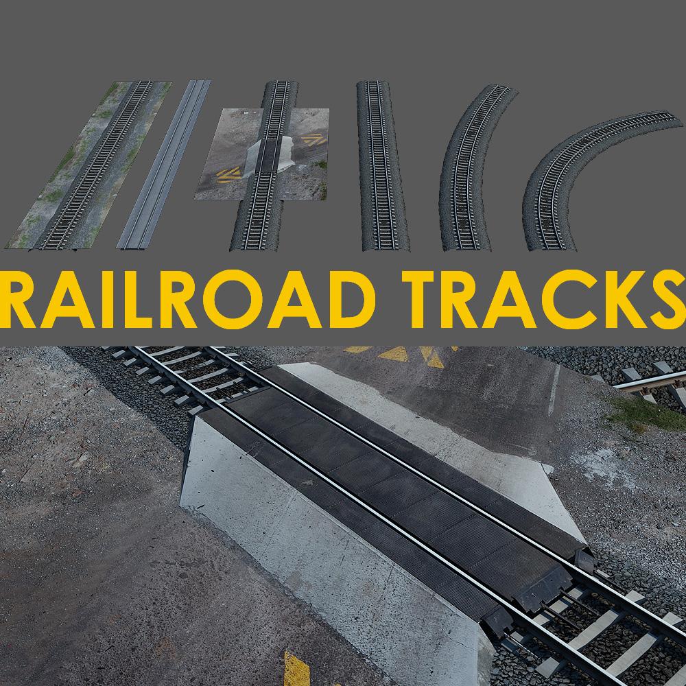 Rail road tracks 轨道