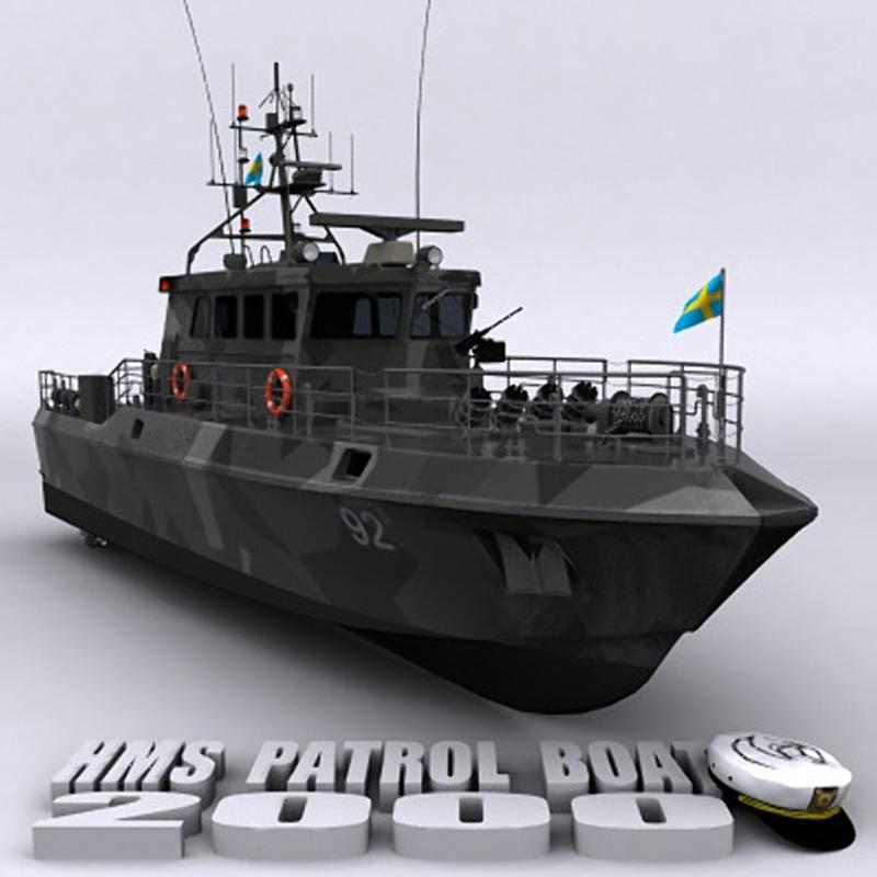HMS Patrol Boat 巡逻艇