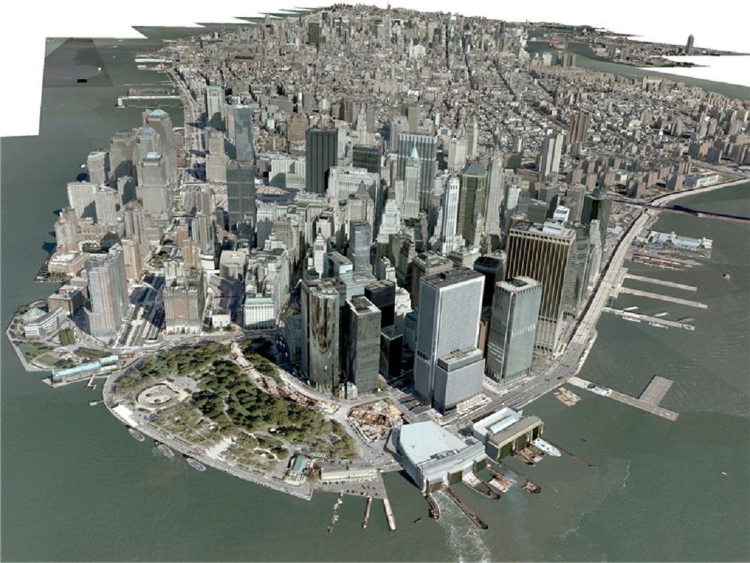 纽约New York City, Manhattan 3D Model