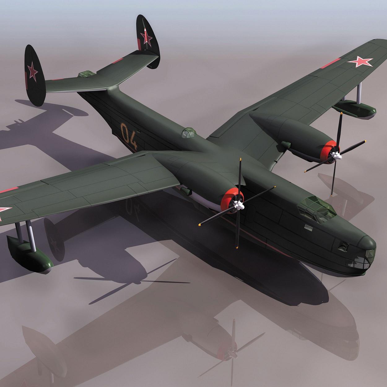 飞机3d模型系列 19-20世纪飞机历史博物馆 b6轰炸机