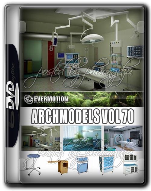 Evermotion Archmodels Vol 70 医院设备3D模型
