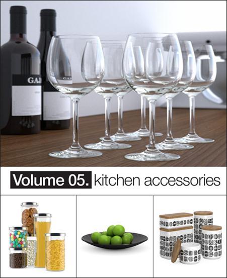 Model+Model: Vol.05 Kitchen accessories 厨房配件模型