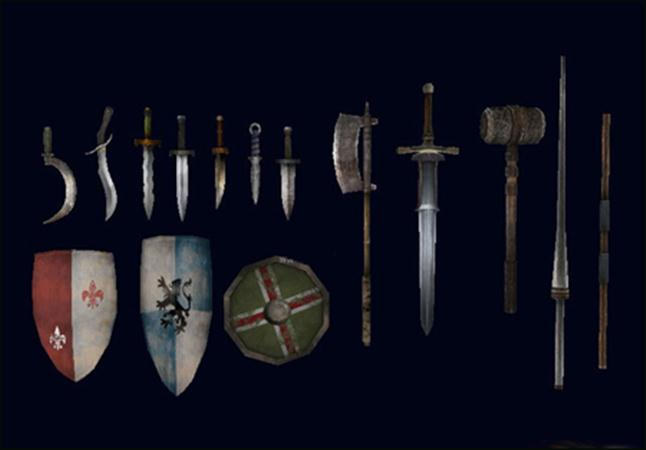 Tridinaut Medieval Weapons Pack 中世纪的武器包