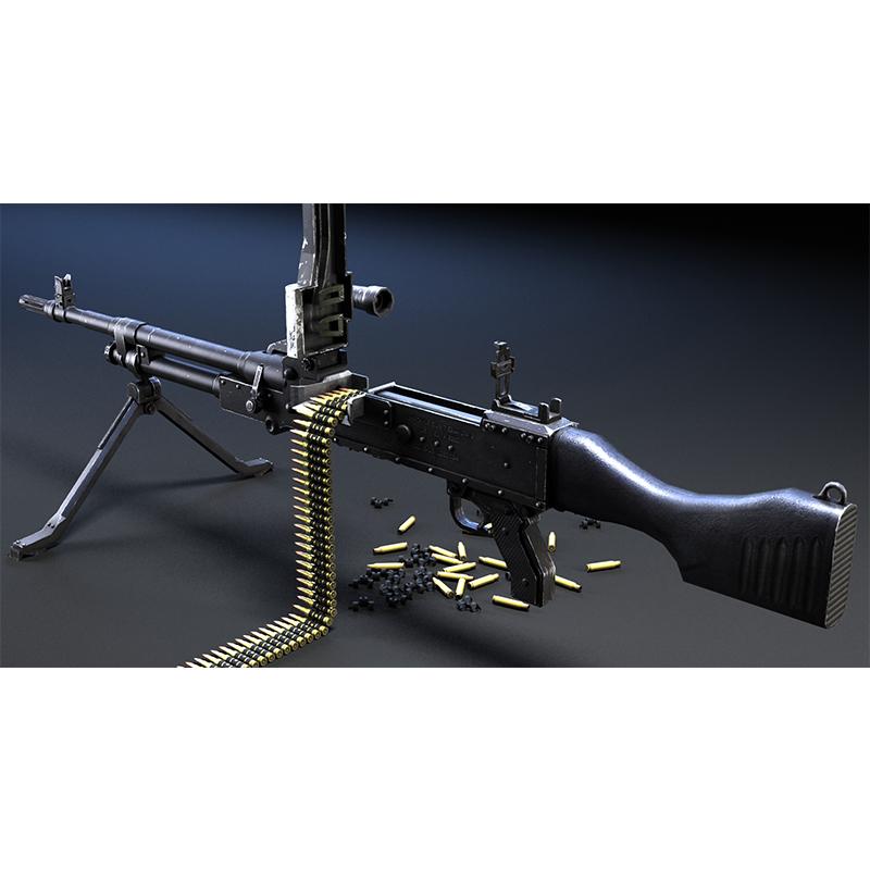 GPMG Machine Gun 机枪