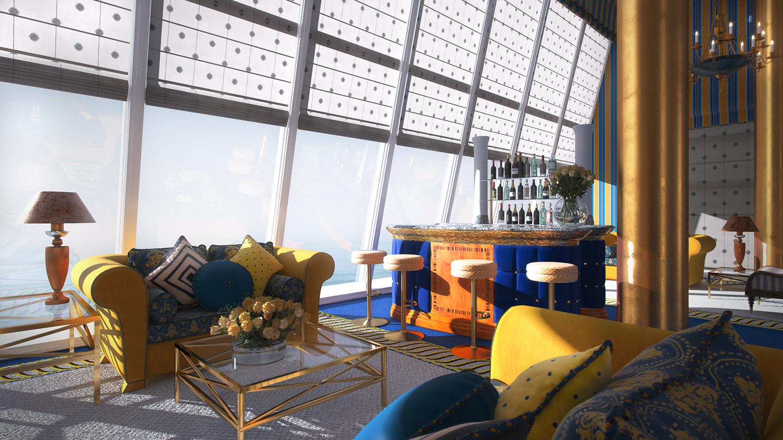室内场景模型系列 东方风格 场景3