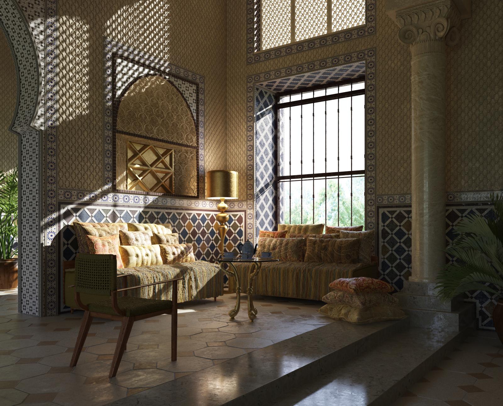 室内场景模型系列 东方风格 场景6
