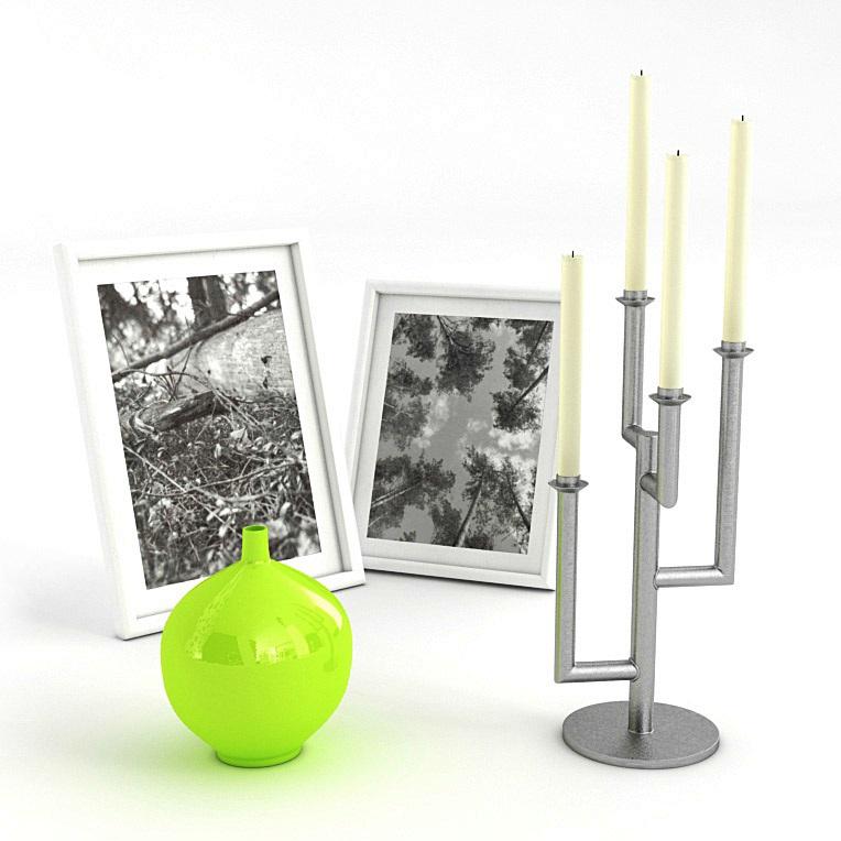 精美家居装饰用品   烛台和相框