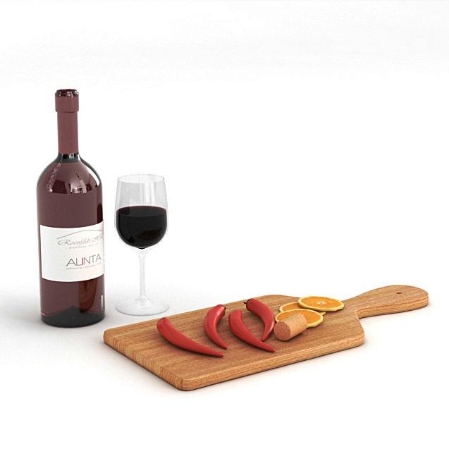 精美家居装饰用品   红酒