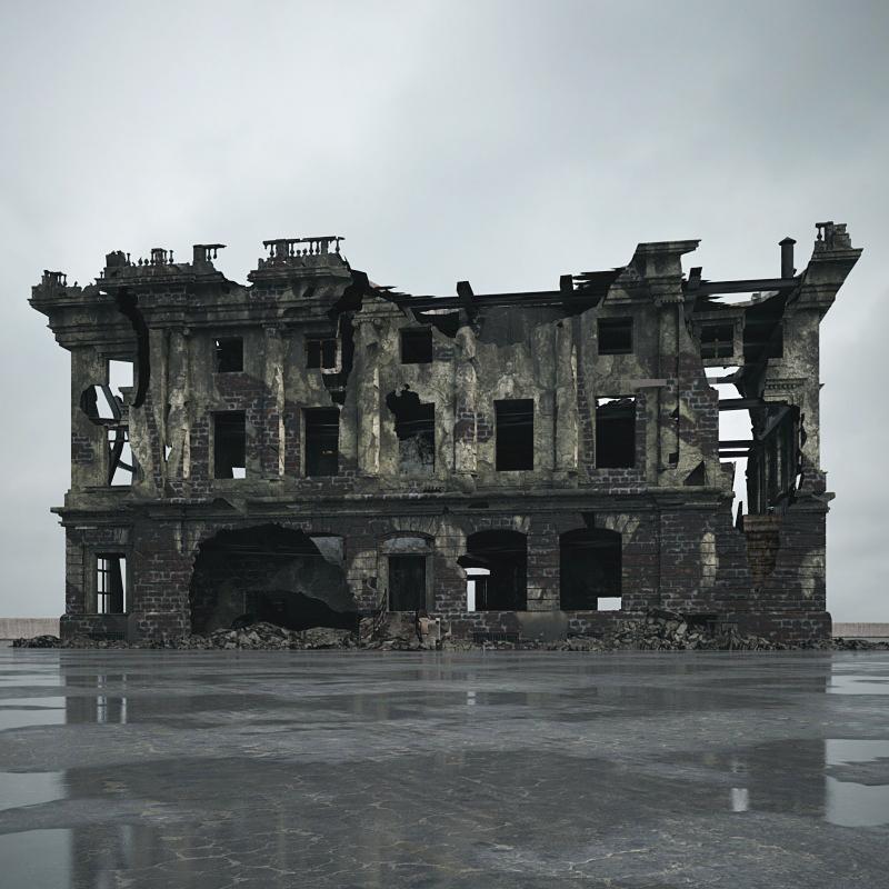废弃房屋 毁损房屋