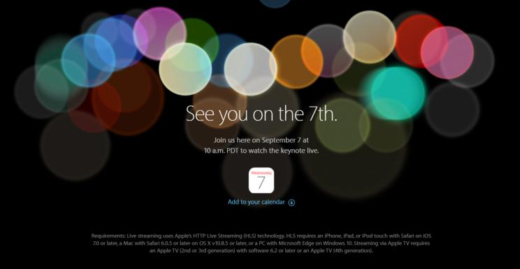 苹果发布会本周登场,除了 iPhone 7 你还能期待点什么?