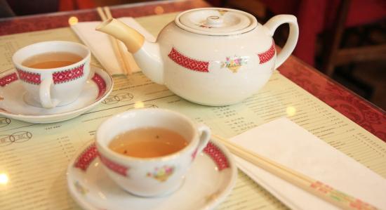 精美的中式餐饮和西式茶点