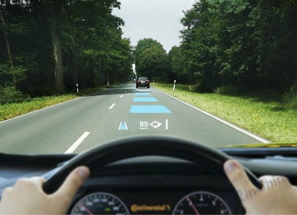 AR + 安全驾驶本田新专利给你「超人视角」,秒变老司机